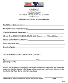 BREEDERS-CERTIFICATE-GUARANTEE